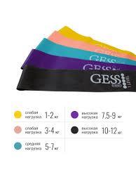 Flex Set <b>набор фитнес-резинок Gess</b> 7881889 в интернет ...