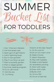 summer bucket list for toddlers lots of fantastic toddler friendly ideas for this summer 7 month old baby activitiesfun