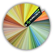 Pacific Polymers Color Chart 250 Stained Concrete Colors Concrete Stain Colors For Cement
