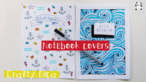 diy notebook cover ideas sea inspired drawings you