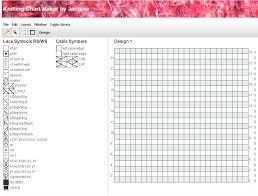 Chart Maker Application Jaquie Knitting Chart Maker