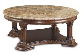antique and vintage round cocktail table with storage and carving legs plus marble top ideas