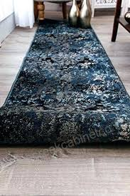 rag runner rug blue runner rug modern navy blue runner rugs hallway long rug blue brown