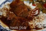 cajun beef tips with rice