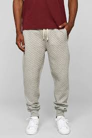 Lyst - Native youth Quilted Jogger Pant in Gray for Men & Gallery Adamdwight.com