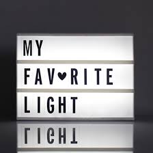 Battery Powered Light Up Letters Us 5 23 22 Off 1pc A6 Size Led Cinematic Light Box With Diy 90 Pcs Black Letters Cards Aaa Battery Powered Cinema Lightbox In Night Lights From
