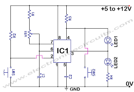 timer circuit diagram ireleast info 555 timer time delay circuit electronic circuits wiring circuit · timer switch circuit diagram