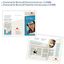 microsoft office catalog templates office brochure template 100 images clinic brochure template