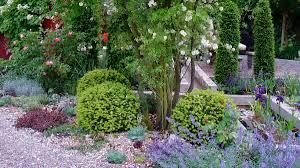 Garten Bepflanzung Kiesbeet