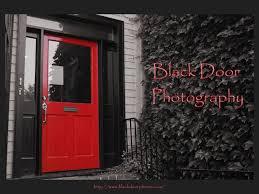 photo of black door photography alexandria va united states