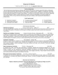 Sample Resume Experienced Service Engineer Augustais