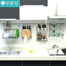 kitchen racks and wall storage stainless steel kitchen rack wall hanging on the kitchen pendant shelf kitchen racks and wall
