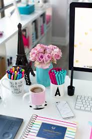 colorful office accessories. Pink And Blue Desk Accessories Simplified Planner Colorful Office R