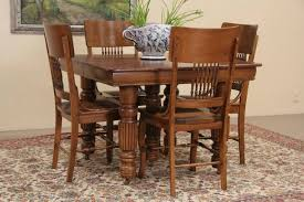 30 inch wide dining table. Square Oak 1900 Antique Dining Table, 6 Leaves Extend 9u0026#39; 6u0026quot; 30 Inch Wide Table