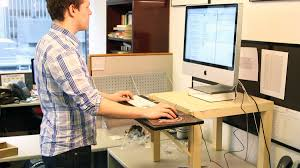 Standing Desk Extension Build Your Own Standing Desk For 22 Money