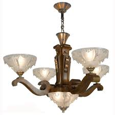 antique chandelier art antique art deco ezan style french wooden chandelier