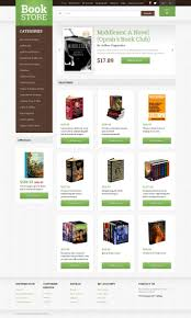 Buy Templates Online Book Shop Opencart Template 49309