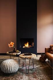 Behang Moods Woonkamer Interieur Warme Woonkamers En Interieur
