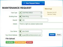 Home Maintenance Tracker Free Work Order Management Software Fast Easy To Use
