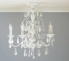 clear chandelier marvelous flush mount rectangular crystal