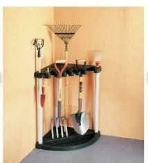 keter garden tool corner rack for