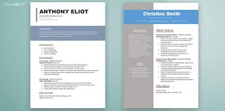 Resume Modern Format Cv Resume Templates Examples Doc Word Download