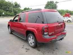 Medium Red Metallic 2005 Chevrolet TrailBlazer EXT LT 4x4 Exterior ...