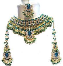 اكسسوارات العروس الهندية images?q=tbn:ANd9GcS