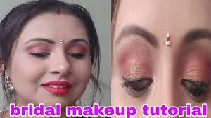 indian bridal makeup tutorial steps full coverage and hd makeup in hindi kaurtips
