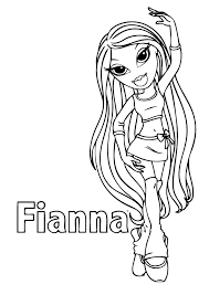 Small Picture Bratz Coloring Pages 7 Coloring Kids