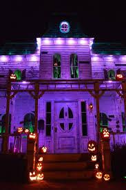 outdoor halloween lighting. Halloween Haunters- Haunted House Facade For ABC Fright Challenge Outdoor Lighting G