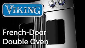 French Door french door range photographs : Viking Professional Electric French-Door Double Oven - YouTube