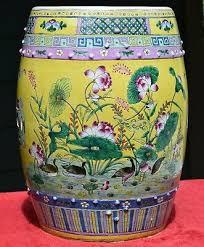 chinese straits porcelain garden stool