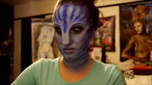 avatar latex prosthetic application and makeup tutorial by kelly odell