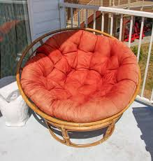 how to recover a papasan chair cushion diy papasan chair cover tutorial at thehappyhousie