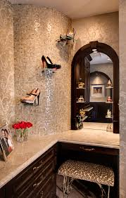 shoe display leopard print carpet