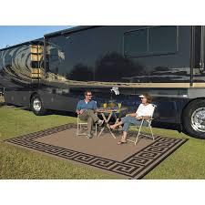 patio mats 9 x 12 reversible rv patio mat indoor outdoor rug camping mat greek key com