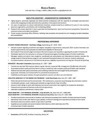 Best Resume Samples Non Profit Administrative Assistant Resume Sample Best Resume 27