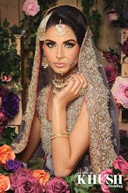 flawless bridal hair and makeup by reshma make up artist london based outfit brocade london by sarah jewellery anees malik