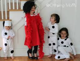 diy 101 dalmation costumes