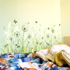 wall decal disney wall beautiful dandelion wall decal to bring your room feel fresh dandelion wall
