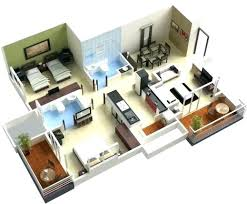 A 3 Bedroom House Plan 3 Bedroom House Plans Fascinating More 3 Bedroom  Floor Plans Simple . A 3 Bedroom House Plan ...