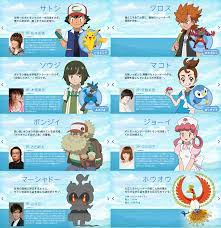 Movie 20 Characters | Pokémon