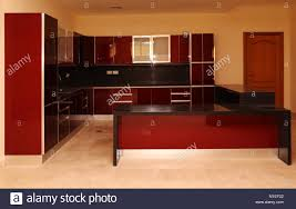 Show Kitchen With Wall And Base Unit Kitchen Cabinets In A Modern