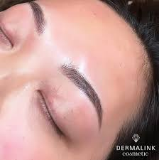 semi permanent makeup strives to subtly enhance and blend in has an abundance of natural colors and is deposited superficially in the upper dermis which