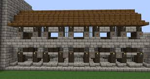 minecraft wall designs. Minecraft Castle Wall Decorations - Designs