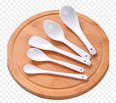 wooden spoon spoon tablespoon fork plate png