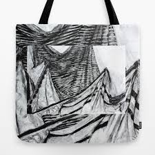 Drapery Drawing Double Drapery Drawing Tote Bag
