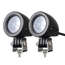 2 Inch Round Led Lights Motorcycle Driving Lights 2inch Round Cree 10w Led Spot Offroad Motorcycle Motor Bike Lights For Truck Car Atv Utv Suv Jeep Boat Pack Of 2