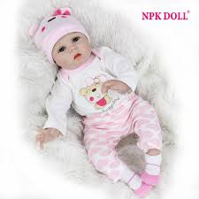 <b>NPKDOLL 55cm Soft Silicone</b> Doll Reborn Baby 22 Toy For Girls ...